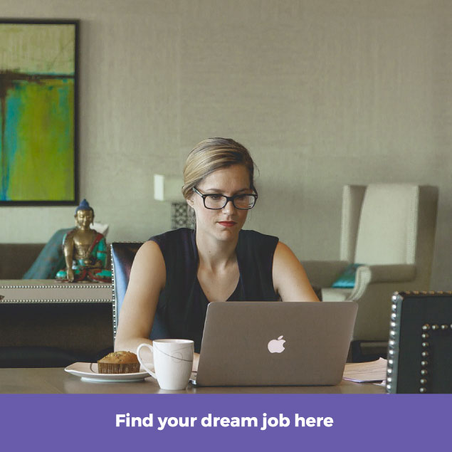 find your dream job here